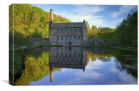 Gibson Mill, Hardcastle Crags, Hebdon Bridge , Canvas Print