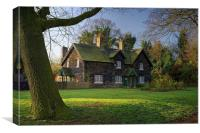 Arbourthorne Cottages , Canvas Print