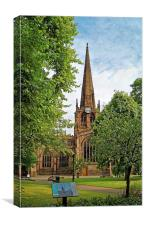 Rotherham Minster , Canvas Print