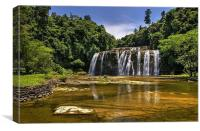 Tinuy-an Falls,Mindanao,Philippines , Canvas Print