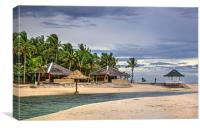 Bantayan Beach Scene, Canvas Print