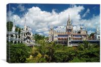 Simala Church, Sibonga, Philippines, Canvas Print