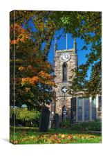 St Thomas Church, Crookes, Sheffield , Canvas Print
