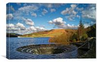 Ladybower Sinkhole, Canvas Print