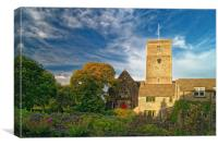 St Marys Church, Swanage, Canvas Print