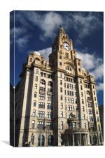 Royal Liver Building                      , Canvas Print