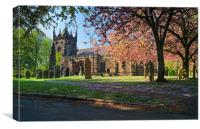 St Mary Magdelene Church, Whiston                 , Canvas Print