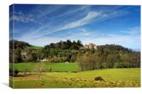 Dunster Castle                               , Canvas Print