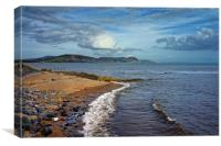 Golden Cap and Jurassic Coastline                 , Canvas Print
