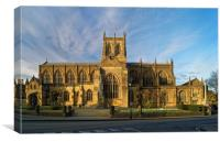 Sherborne Abbey                       , Canvas Print