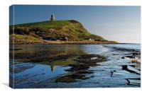 Kimmeridge Bay                      , Canvas Print