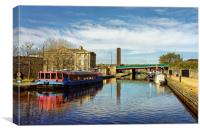 Victoria Quays, Sheffield                         , Canvas Print