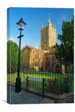 Church of St Mary, Ilminster, Somerset            , Canvas Print