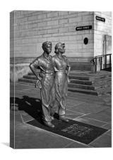 Women of Steel, Sheffield                        , Canvas Print