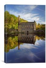 Portrait of Gibson Mill                           , Canvas Print