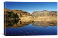 Blea Tarn, Lake District                          , Canvas Print