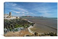 Lyme Bay                       , Canvas Print
