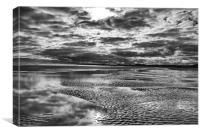 Storm Beach, Canvas Print
