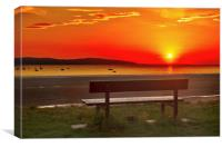 West Kirby sunset, Canvas Print