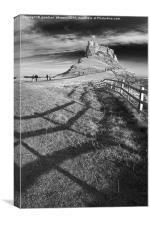 Lindisfarne Castle, Canvas Print