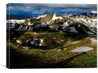 Sunspots on Loveland Pass, Canvas Print