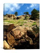 Boulder Canyon, Canvas Print