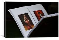 The Dancers, Canvas Print