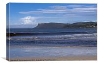 Ballycastle Beach, Canvas Print