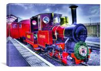 BMR Mountaineer Cleethorpes Light Railway, Canvas Print