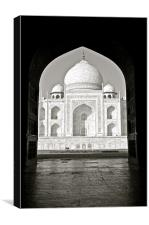 The Taj Mahal, Canvas Print