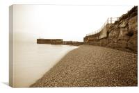 Hastings Harbour, Canvas Print
