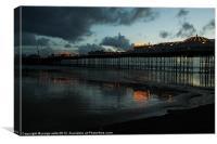 Brighton Beach Pier, Canvas Print