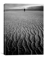 Holkham Bay, Canvas Print