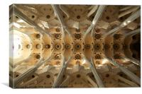 Sagrada Familia Barcelona, Canvas Print