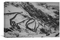 Mountain Pass Italy, Canvas Print