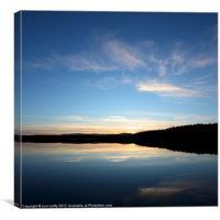 Loch Garten Sunset, Canvas Print