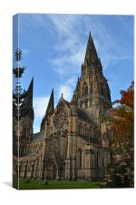 St Marys Cathedral, Canvas Print