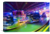 Waltzers, Canvas Print