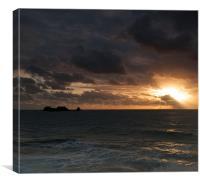Clonque Sunset, Canvas Print