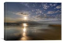 Aberavon Beach, Canvas Print
