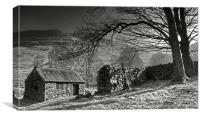 Cottage, Canvas Print