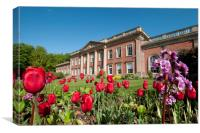 Spring at Colwick Hall, Canvas Print