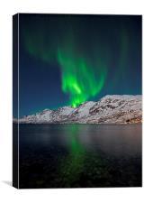 Aurora Explosion, Canvas Print