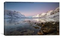 Ersfjordbotn Reflections, Canvas Print