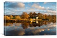 Ullswater Reflections , Canvas Print