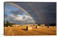Double Rainbow , Canvas Print