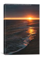 Cape May Sunset , Canvas Print
