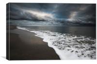 Beach Drama, Canvas Print