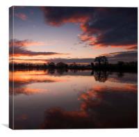 Sunrise , Canvas Print