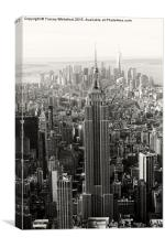 Empire State , Canvas Print